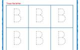 Printable Worksheets Alphabet Tracing Letter Worksheets