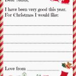 Santa Letter Messy Little Monster