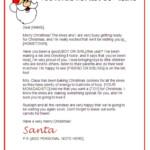 Santa North Pole Workshop Santa Letter Templates JXmsdp1U