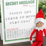Secret Message From Santa Printable Over The Big Moon