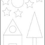Shapes tracing house2 10 png 1 217 1 906 Pixels Shape