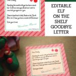 Shelf Elf Goodbye Letter Inspiration Made Simple