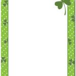 St Patricks Day Letterhead The Image Shop
