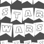 Star Wars Printables Free Star Wars Printable Banner