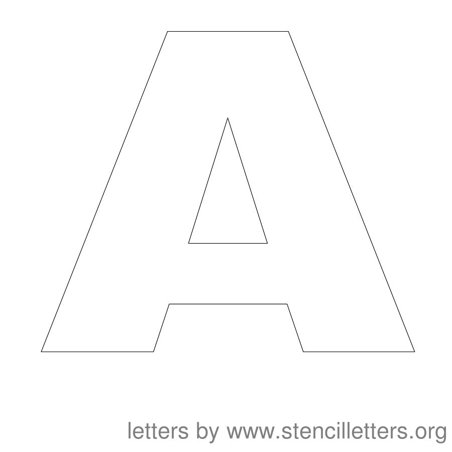 Stencil Letters 12 Inch Uppercase Stencil Letters Org