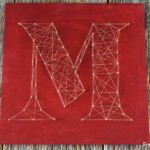 String Art Monogram Fun Family Crafts