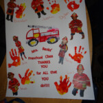 Thank You Poster For The Fire Department Made By Robin