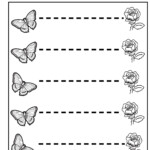 Tracing Horizontal Lines Preschool Basic Skills Fine Motor