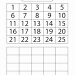 Tracing Numbers 1 20 Printable 1 20 Worksheets For
