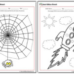 Tracing Pictures Worksheets Aussie Childcare Network