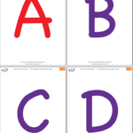 Uppercase Alphabet Flashcards Super Simple