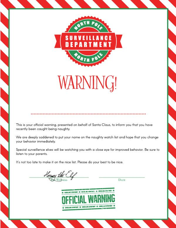 Use These Editable Letters From Santa For A Magical