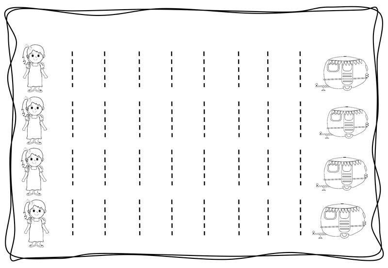 Vertical Tracing Line Sheets 8 Preschool And Homeschool
