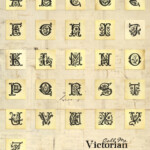 Vintage Alphabet Printable Digital Collage Sheet Call Me