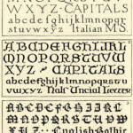 Vintage Clip Art Another Gorgeous Typography Page The