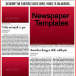 Where Can You Find A Newspaper Template