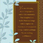 You re A Blessing Pastor Anniversary Card Greeting